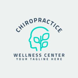 Chiropractice Chiropracter Logo