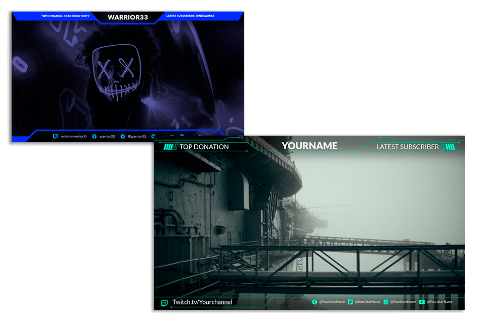 Twitch Overlay Maker | Brand Your Twitch Channel | Placeit