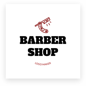 Barber Shop Logo Maker Min