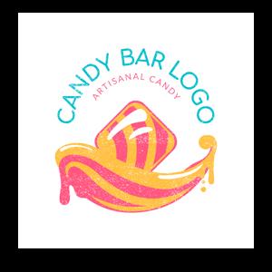 Candy Bar Logo Maker Min