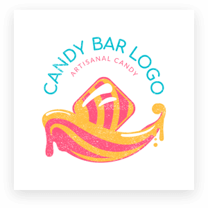 Candy Bar Logo Maker Min