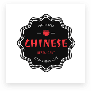 Chinesse Food Logo Maker Min