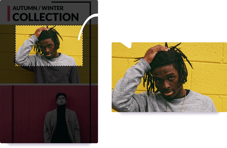 Crop Your Images And Highlight A Specific Part