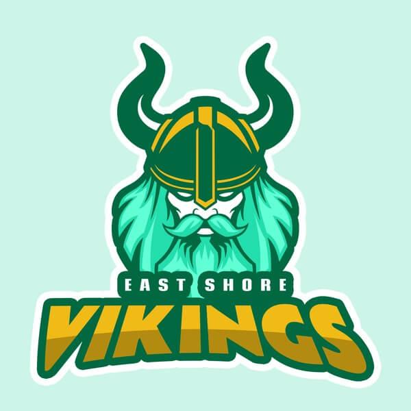 Vikings Logo Baseball Landing Page
