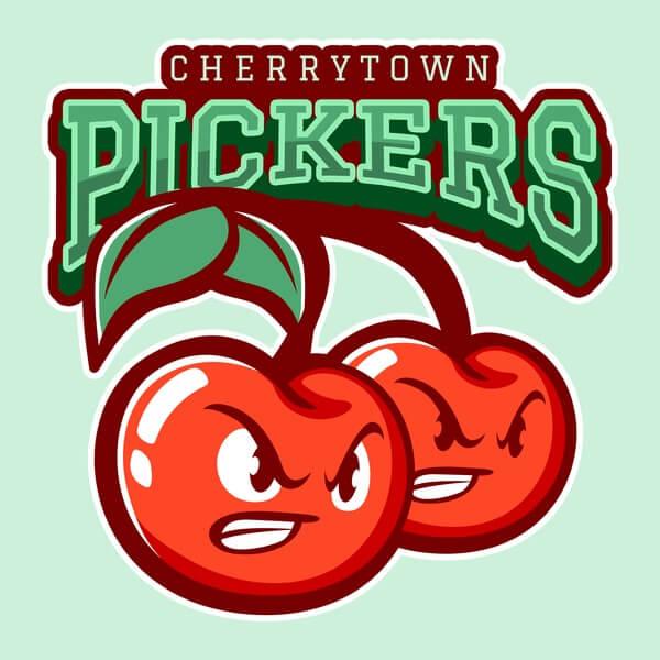 Cherrytown Logo Baseball Landing Page
