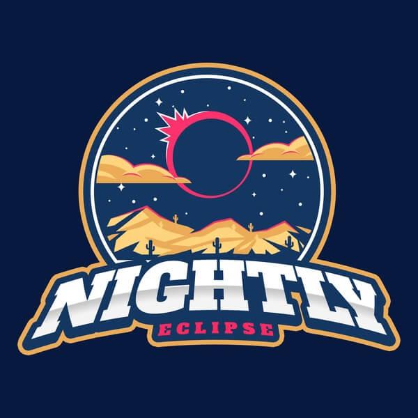 Nightly Logo Baseball Landing Page