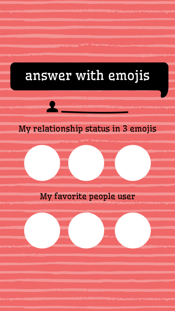 Fun Instagram Story Template Of Questions 601a 2
