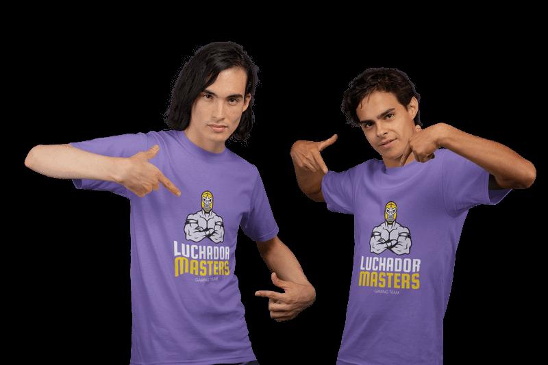 Luchador Masters Tshirt Mockup