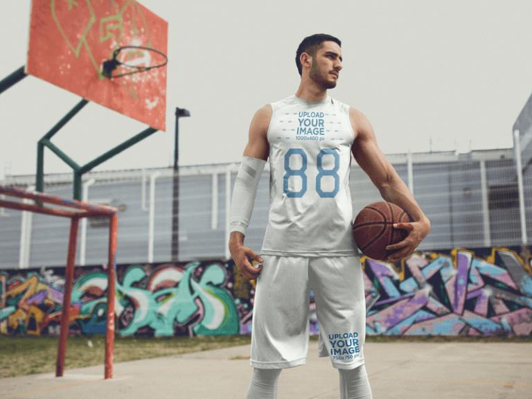 basketball player template
