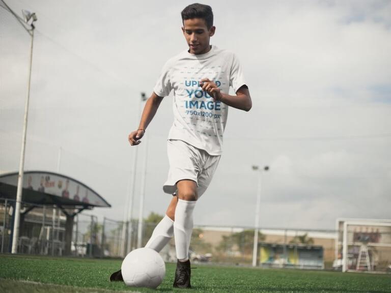 soccer jersey maker teen