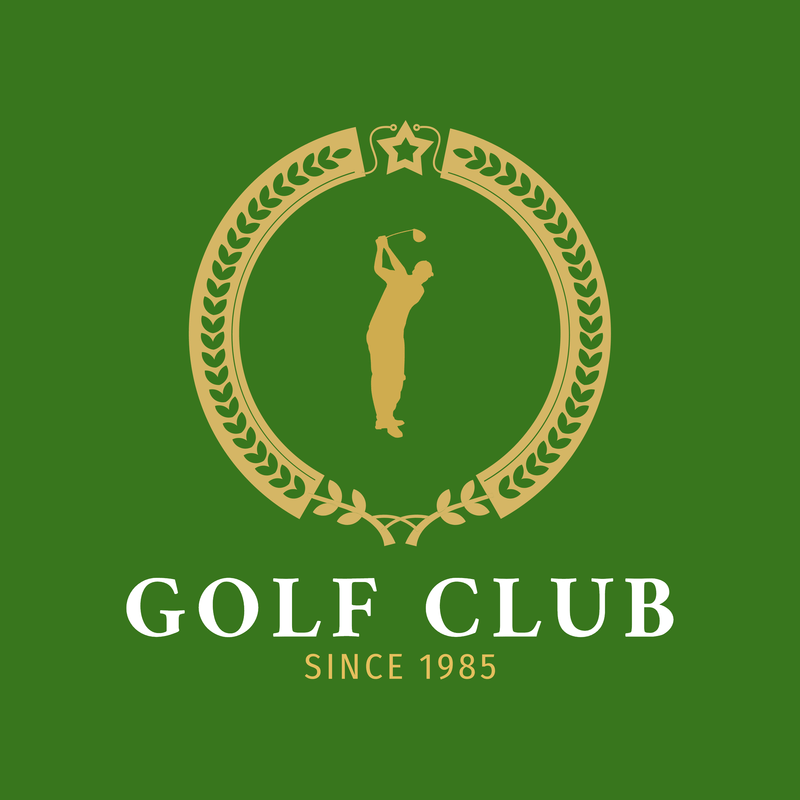 Silhoutte Logos Golf