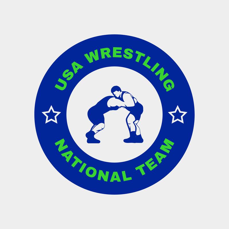 Wrestling Sports Logo Maker