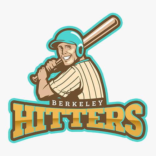 baseball logo maker logo
