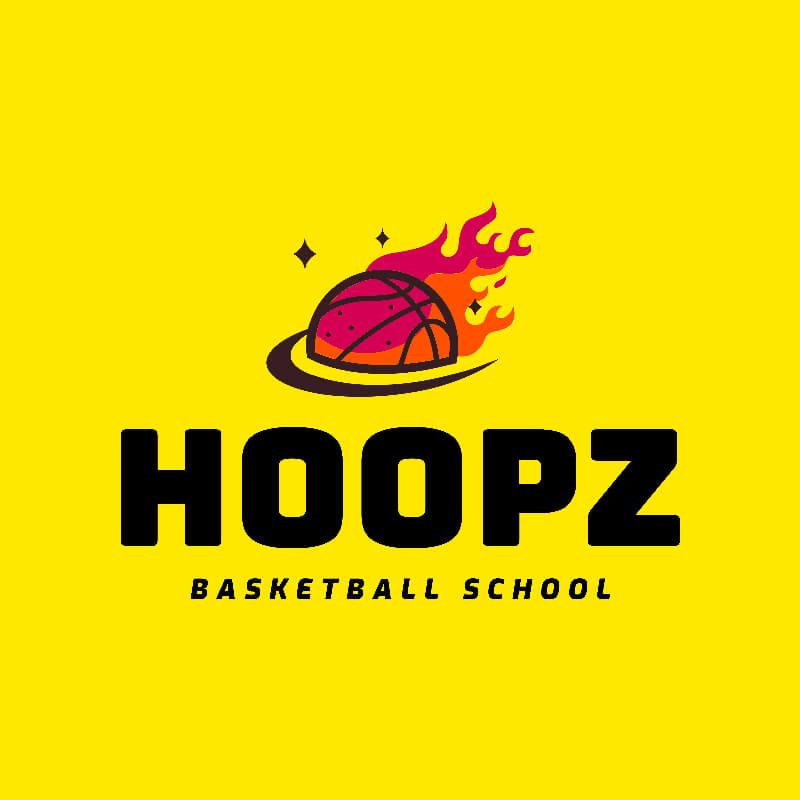 Basketball Logo Ball