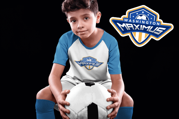 Soccer Mockup Kids