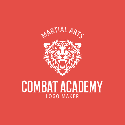 Mma Logo Maker For A Combat Academy