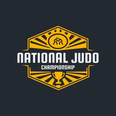 Martial Arts Logo Creator For A Judo Championship