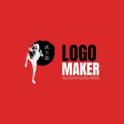 Martial Arts Logo Design Maker