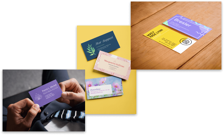 Business Cards Mockup Maker