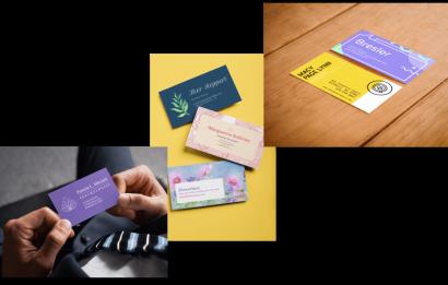 Business Cards Mockup Maker