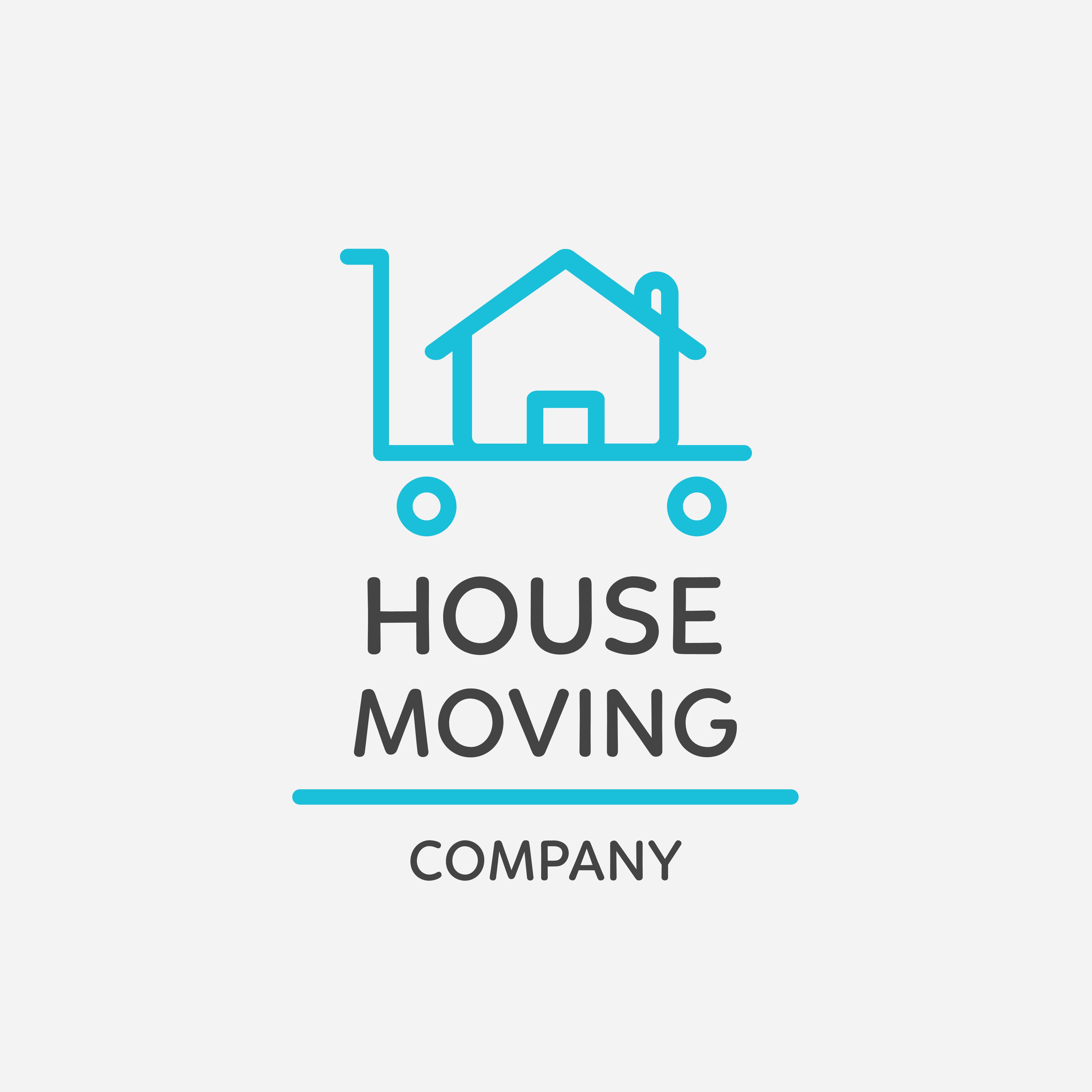 House Moving Logo