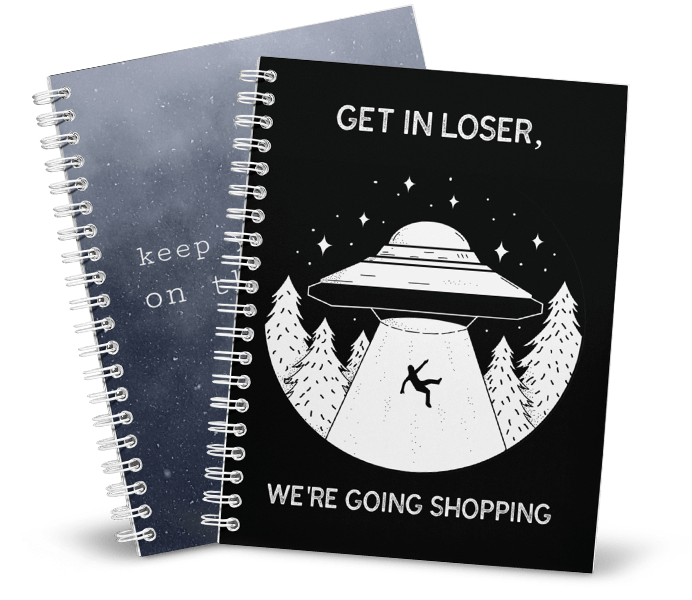 Create A Custom Notebook With A Notebook Mockup