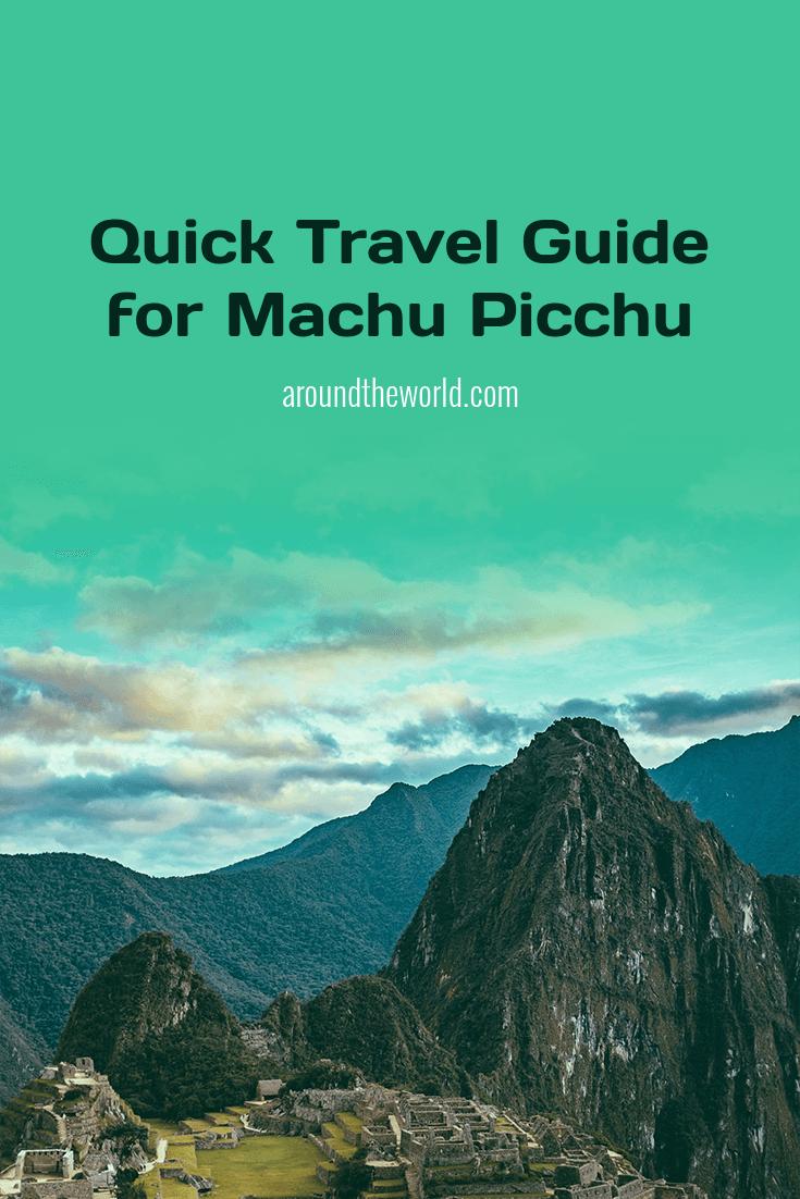 Peru Travel Info Pinterest Pin Maker