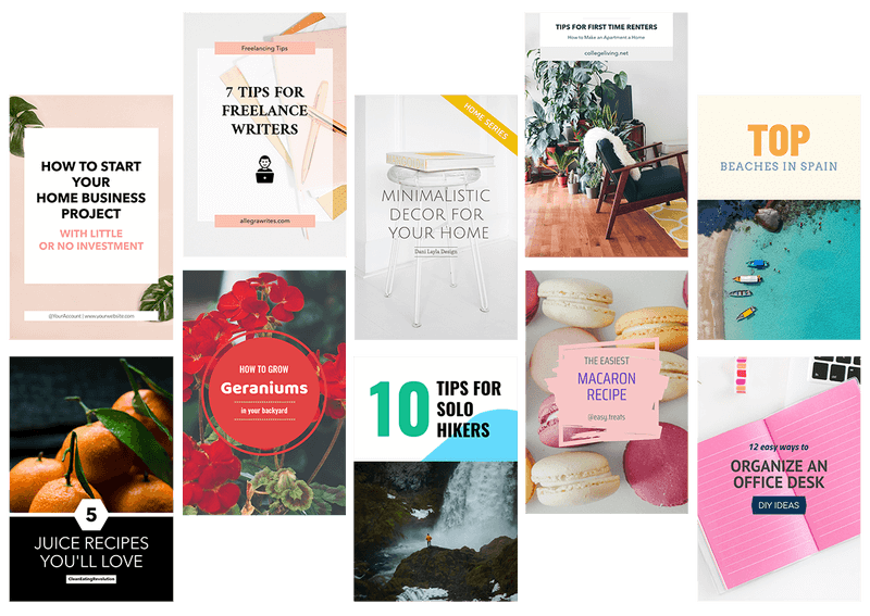 Pinterest Template To Create Pinterest Pins2