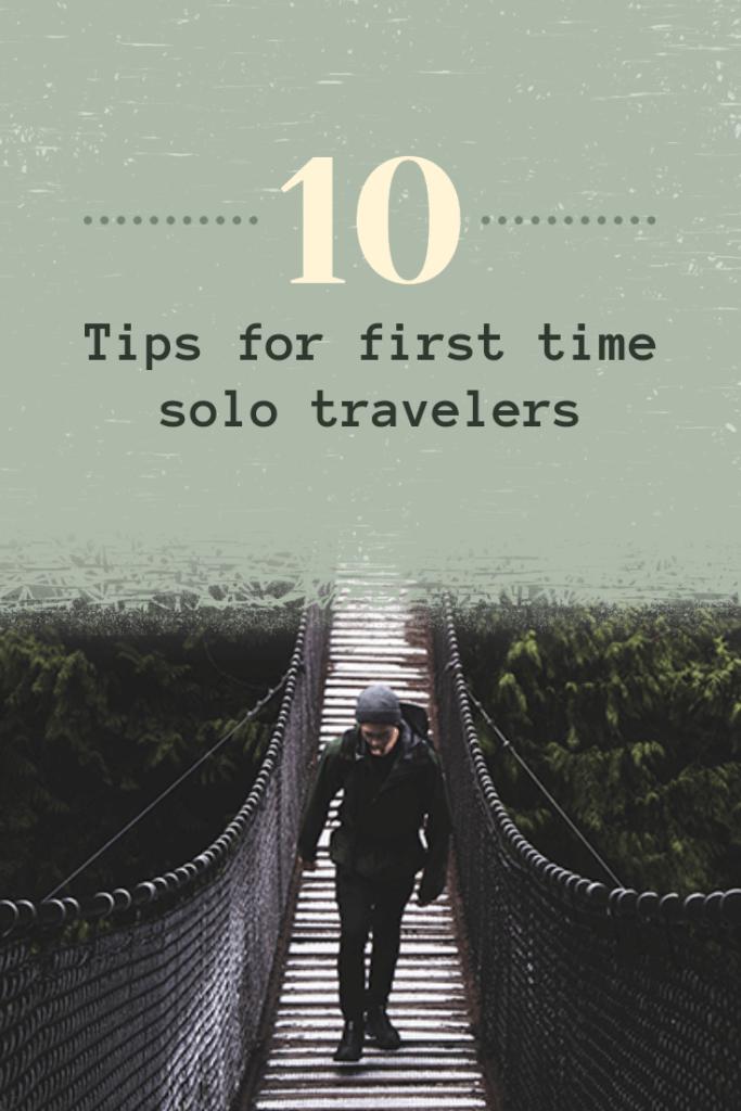 Solo Traveler Tips Pinterest Pin Maker