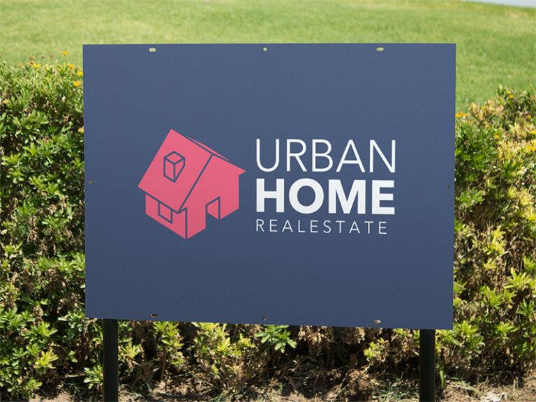 Real Estate Logo Sign