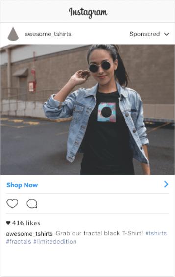Instagram Shot Tshirt Mockup