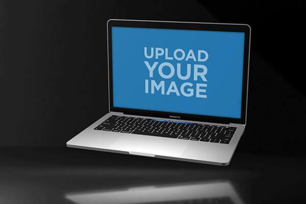 Macbook Pro Video Mockup Example