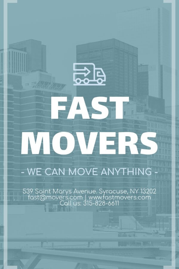 Movers Flyer Maker