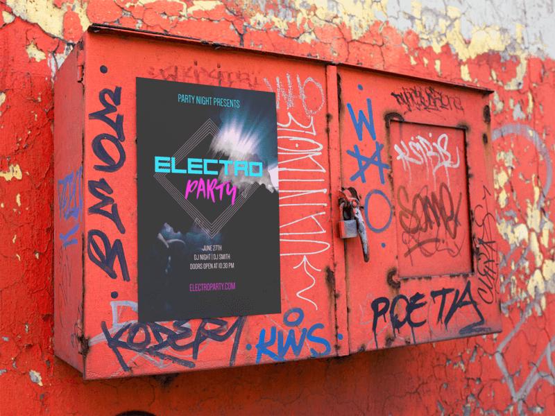 Poster Mockup Urban