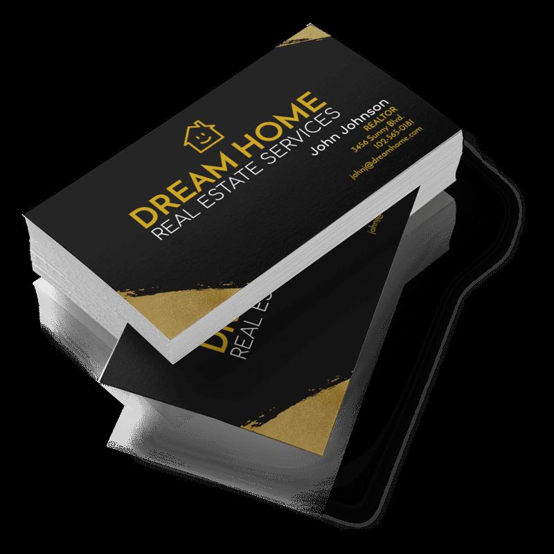 Real Estate Business Cards Transparent Background Min