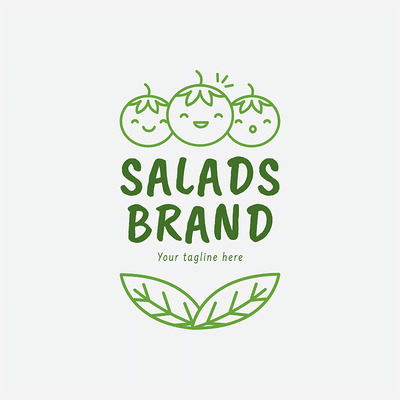 Healthy Food Logo 2