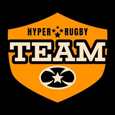 Minimalistic Rugby Logo Maker 1618c