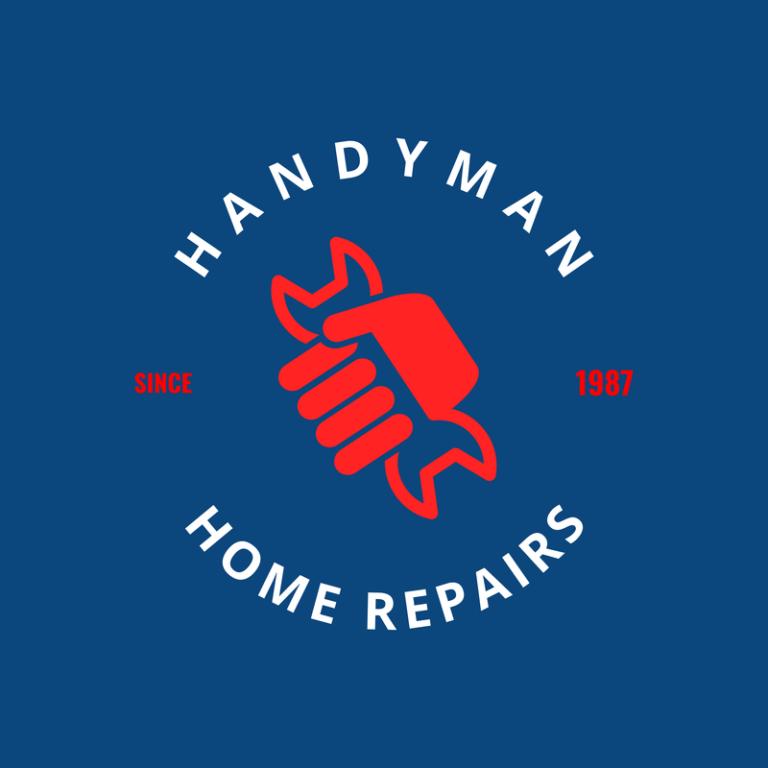 Circular Logo Template For Handyman