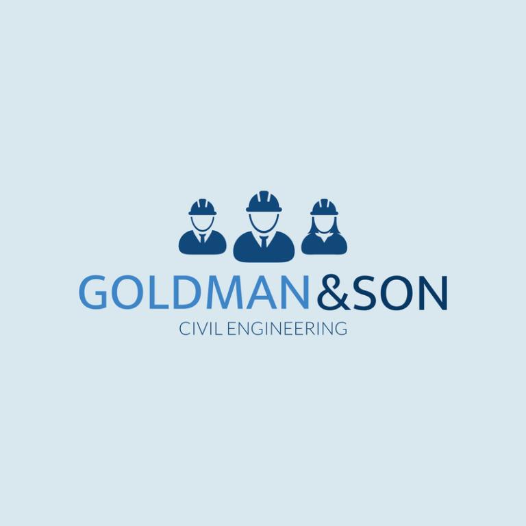 Civil Engineer Corporation Logo Maker