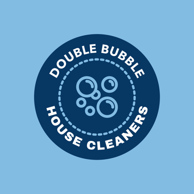 Cleaning Service Logo Maker With Soap Bubble Graphics