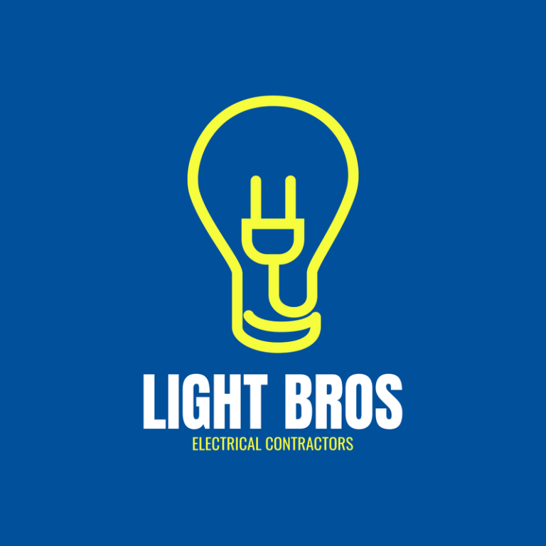 Electric Logo Maker For An Electrician