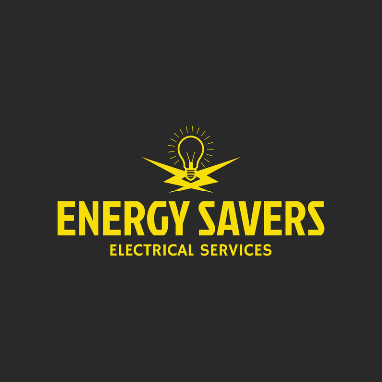 Electrician Services Logo Maker With Electrical Icons