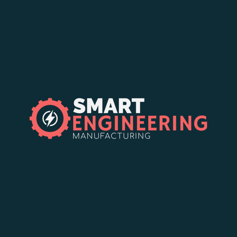 Engineering And Manufacturing Logo Template