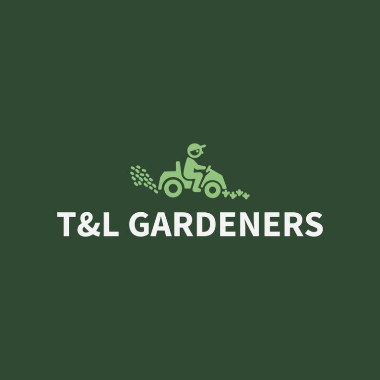 Gardener Logo Maker With Lawn Mower Images