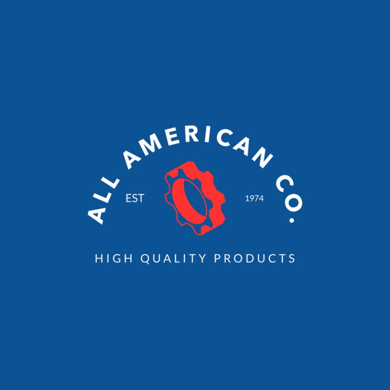 Industrial Logo Template For A Manufacturing Company