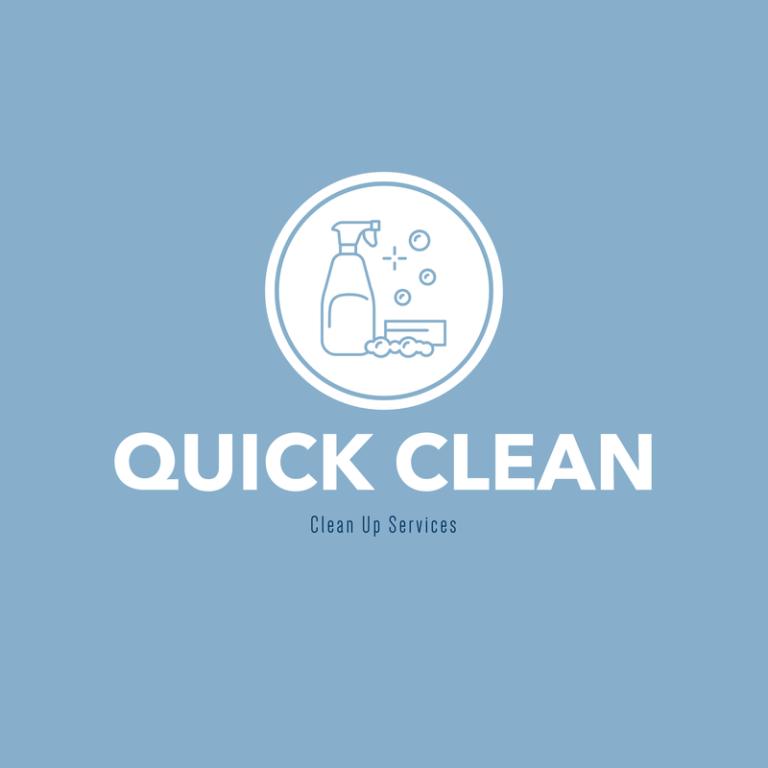 Janitor Agency Logo Design Template