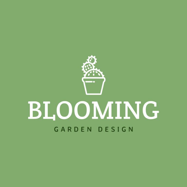 Landscaping Logo Maker With Garden Images