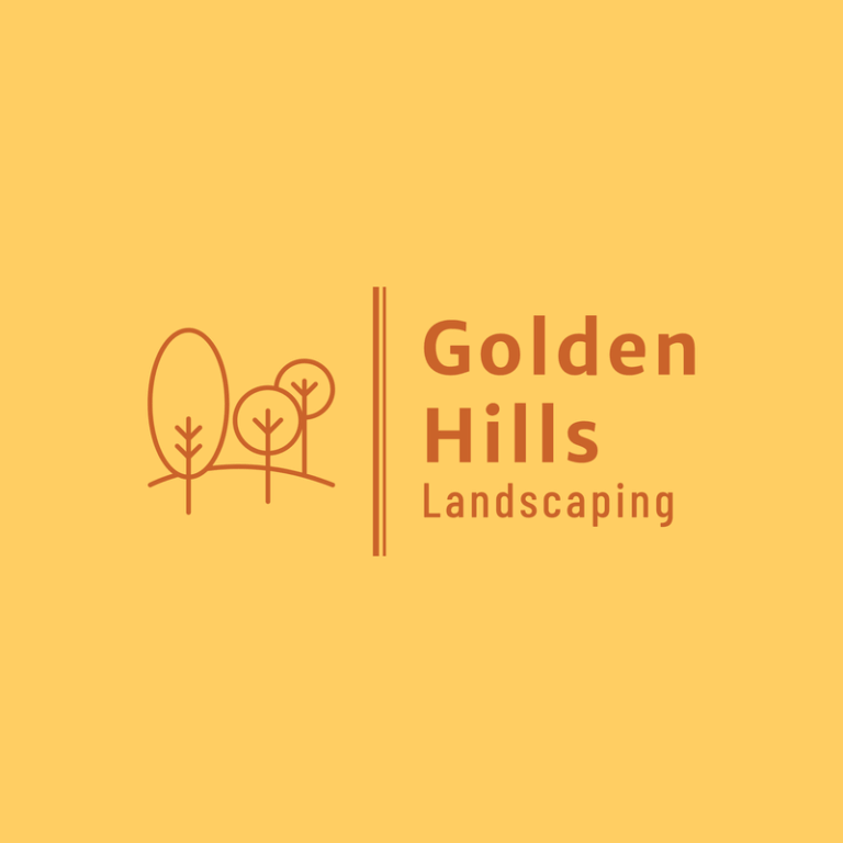 Landscaping Logo Template With Tree Graphics