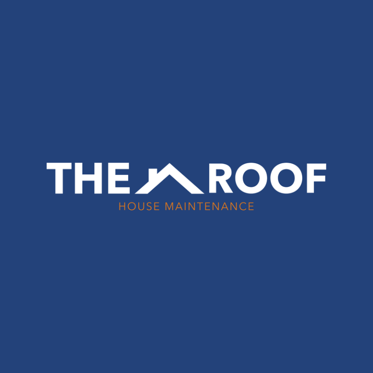 Logo Design Template For Roof And House Maintenance