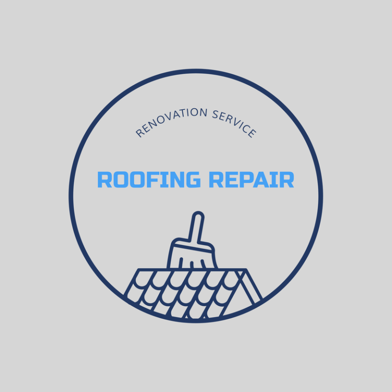 Logo Maker For A Roof Repair Service